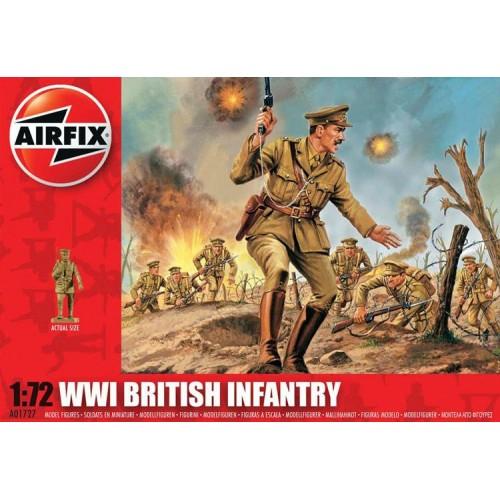 INFANTERIA BRITANICA 1ª G.M. (48 piezas) 1/72 - Airfix A01727