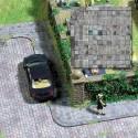 CARTULINA ACERAS C/BORDILLO (210 x 148 mm) 2 unidades ESCALA H0