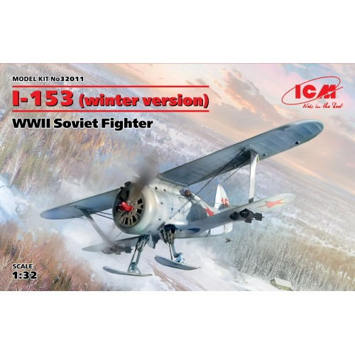 POLIKARPOV I-153 CHAIKA (Version Invernal) 1/32 - ICM32011