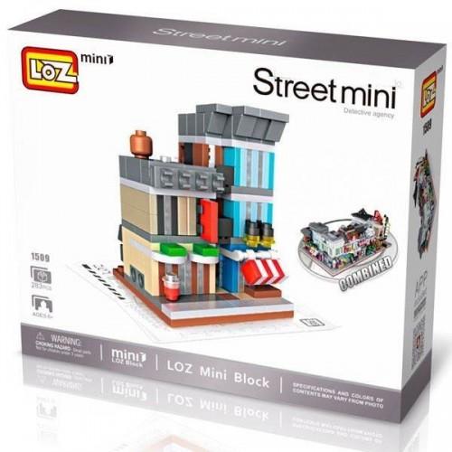 Street mini: AGENCIA DE DETECTIVES (283 Pzas) - LOZ 1602