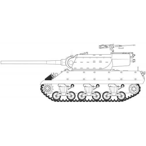 DESTRUCTOR DE CARROS M-36 / M-36 B2 JACKSON -1/35 - Airfix A1366
