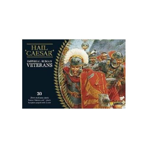 INFANTERIA ROMANA VETERANOS (20 Figuras) -1/56- Warlord Games 102011001