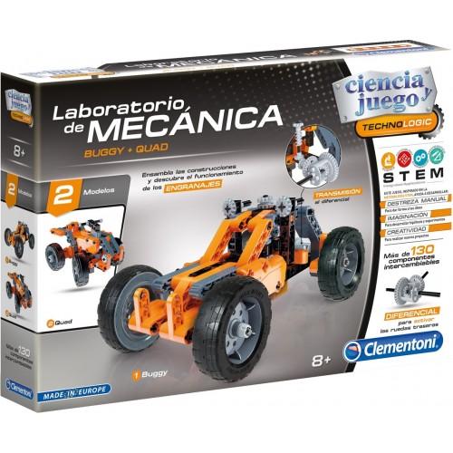 LABORATORIO DE MECANICA BUGGY & QUAD - CLEMENTONI 55159