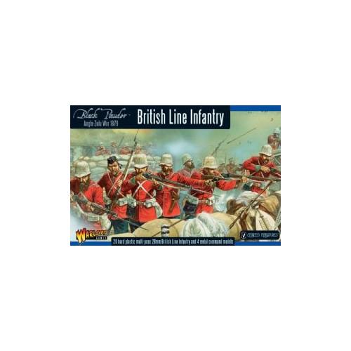 INFANTERIA DE LINEA BRITANICA (G. Zulu 1879) -1/56- Warlord Games 302014601