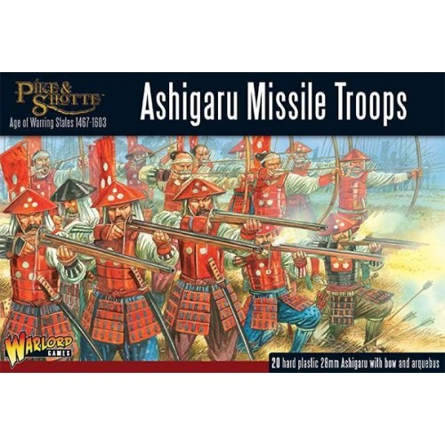 ASHIGARU MISSILE TROOPS (20 Figuras) -1/56- Warlord Games 202014003