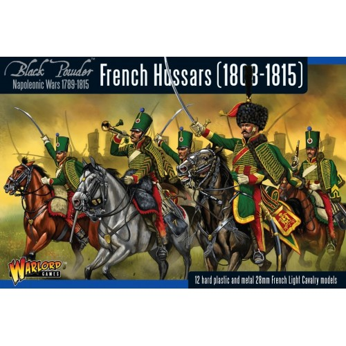 HUSARES FRANCESES 1808-1815 (12 Figuras) -1/56- Warlord Games 302012002