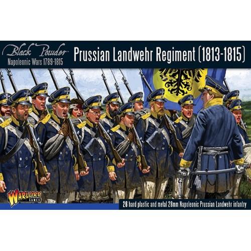 INFANTERIA LANDWEHR PRUSINA 1813-1815 (26 Figuras) -1/56- Warlord Games 302012501