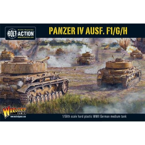 CARRO DE COMBATE Sd.Kfz. 161 Ausf. F1/G/H -1/56- Warlord Games 402012010