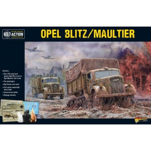CAMION OPEL BLITZ / MAULTIER -1/56- Warlord Games 402012018