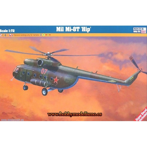 MIL MI-18T HIP - ESCALA 1/72 - mister craft 060053
