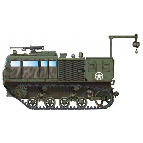 TRACTOR ARTILLERIA M-4 (Obus 203 mm) -1/72- Hobby Boss 82921