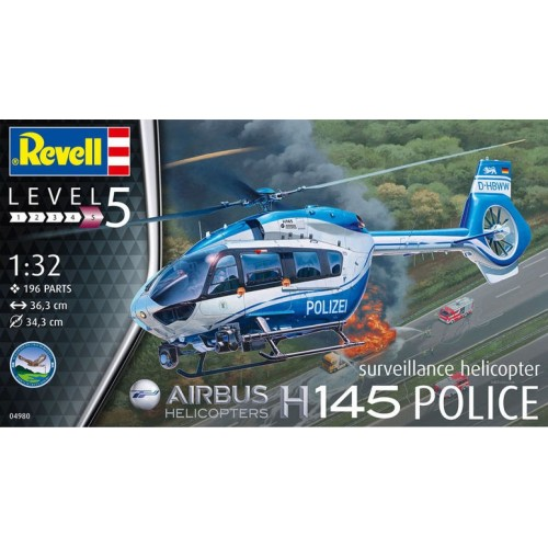 EUROCOPTER H-145 POLICE -1/32- Revell 04980