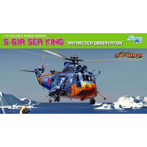"SIKORSKY S-61 A SEA KING ""Antarctica Observation"" -1/72- Dragon 5111"