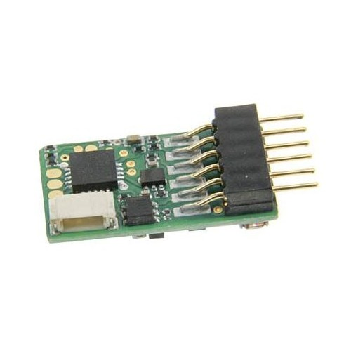 DECODER DIGITAL 6 PINS PARA LOCOMOTORAS ESCALA N - UHLENBROCK 73115