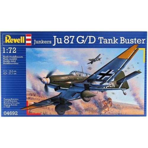JUNKERS JU-87 G/D STUKA -1/72- REVELL 04692
