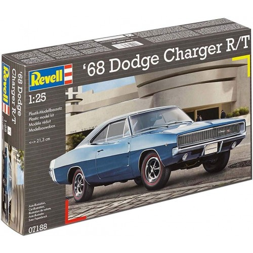 DODGE CHARGUER 68 R/T - ESCALA 1/25 - REVELL