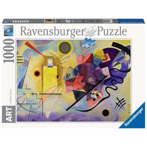 PUZZLE 1000 Pzas YELLOW, RED, BLUE 1925, KANDINSKY -Ravensburger 14848