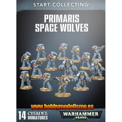 START COLLECTING PRIMARIS SPACE WOLVES - GAMES WORKSHOP 70-53