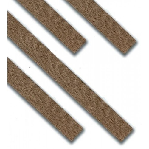 CHAPA FORRO NOGAL (0,6 x 6 x 1.000 mm) 20 unidades
