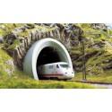 BOCA TUNEL MODERNA - ESCALA H0 1/87 - BUSCH 7020