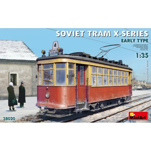 TRANVIA SOVIETICO X SERIES -1/35- MiniArt Model 38020