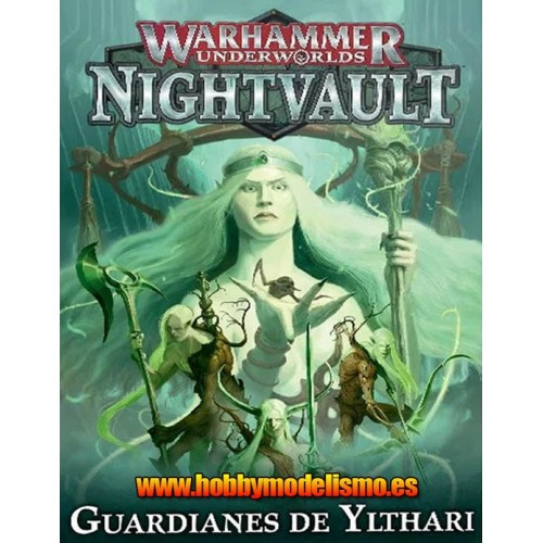 NIGHTVAULT GUARDIANES DE YLTHARI - GAMES WORKSHOP 110-55-03