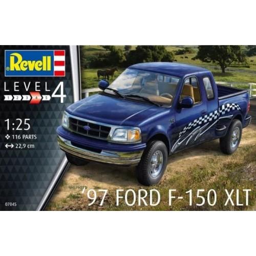 FORD F-150 XLT 1997 - escala 1/25 - REVELL 07045