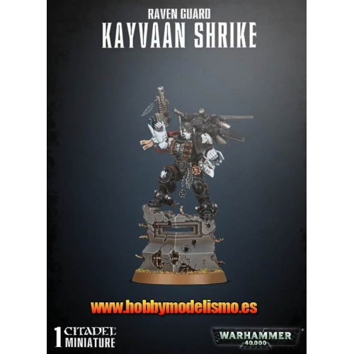REAVEN GUARD KAYVAAN SHRIKE - GAMES WORKSHOP 48-89