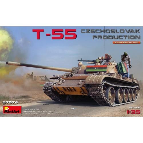 CARRO DE COMBATE T-55 (Checoslovaquia) -1/35- MiniArt Model 37074