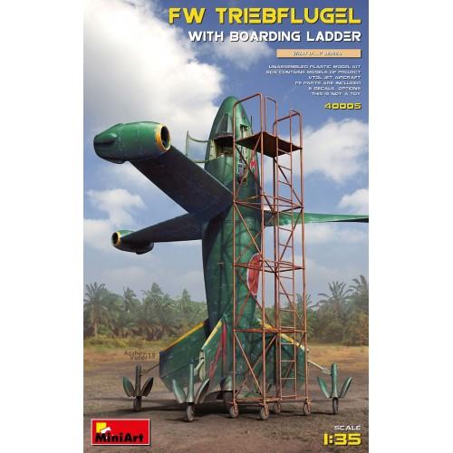 FOCKE-WULF TRIEBFLUGE & ACCESORIOS DE DESPEGUE -1/35- MiniArt Model 40005