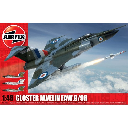 GLOSTER JAVELIN FAW.9/9R -1/48- Airfix 12007