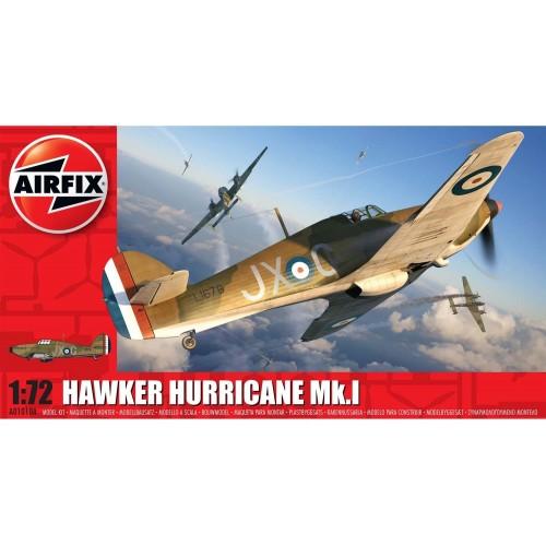 HAWKER HURRICANE MK-I -Escala 1/72- Airfix A01010A