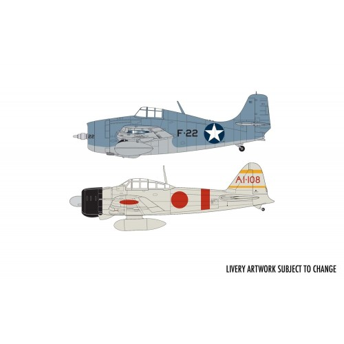 DOGFIGHT DOUBLE PACIFICO -1/72- Airfix A50184