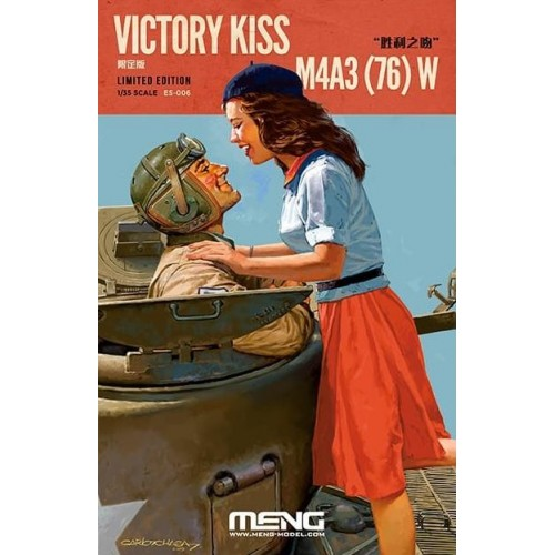"""""""VICTORY KISS"""" (Limited Edition) -1/35- Meng Model ES-006"""