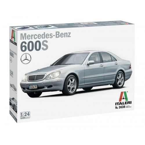 MERCEDES BENZ 600S - ESCALA 1/24 - ITALERI 3638