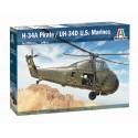 SIKORSKY UH-34 D USMC / H-34 A PIRATE -Escala 1/48- Italeri 2776
