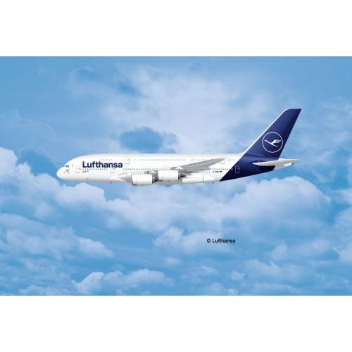 AIRBUS A380-800 LUFTHANSA - ESCALA 1/144 - REVELL 03872