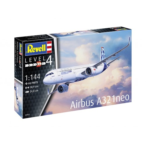 AIRBUS A321 NEO - ESCALA 1/144 - REVELL 04952