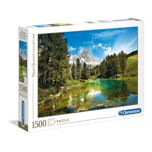 PUZZLE 1500 PZAS BLUE LAKE - CLEMENTONI 31680 (84,3x59,2cms)
