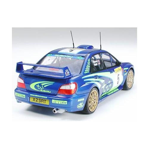 SUBARU IMPREZZA WRC 2001 -Escala 1/24- Tamiya 24240