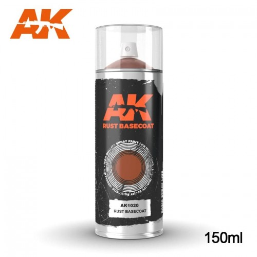SPRAY RUST BASECOAT 150 ml - AK 1020