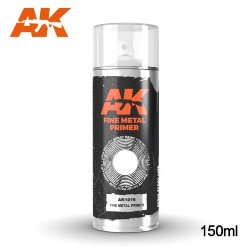 SPRAY FINE PRIMER METAL 150 ml - AK 1016