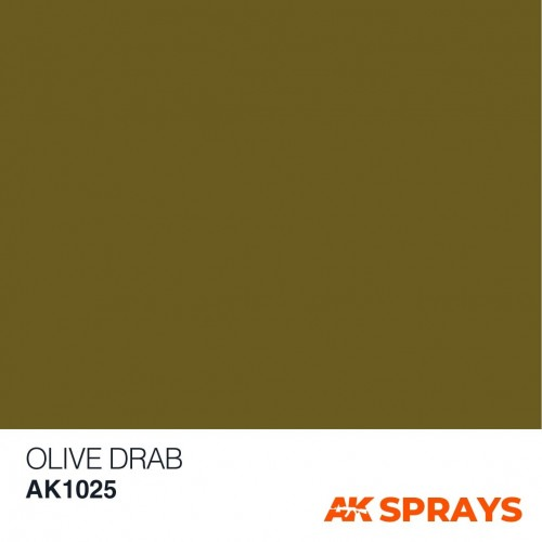 SPRAY OLIVE DRAB 150 ml - AK 1025