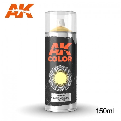 SPRAY SAND YELLOW 150 ml - AK 1024