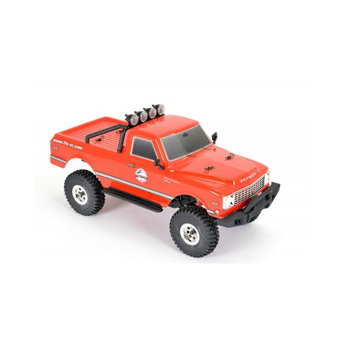 FTX OUTBACK MINI X PATRIOT 1:18 TRAIL READY-TO-RUN RED ELECTRICO RC