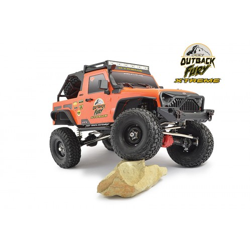 COCHE TRAIL CRAWLER RC 1/10 OUTBACK FURY EXTREME 4X4 RTR