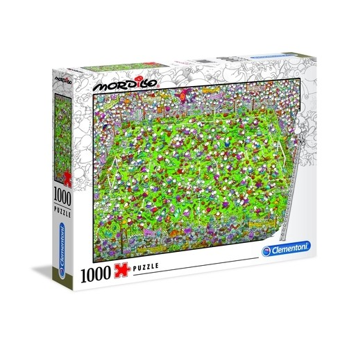 PUZZLE 1000 PZS MORDILLO THE MATCH - CLEMENTONI 39537