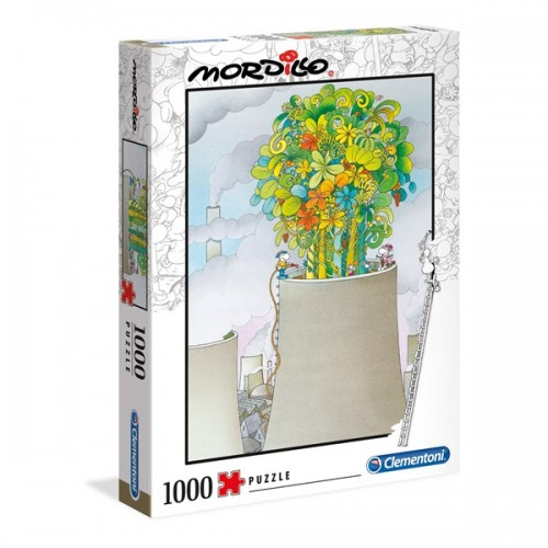 PUZZLE 1000 PZS MORDILLO THE CURE - CLEMENTONI 39535