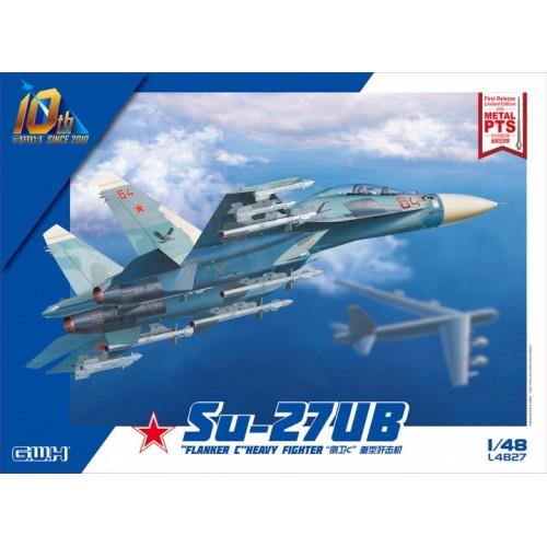 SUKHOI SU-27 UB FLANKER C -Escala 1/48- Great Wall Hobby L4827