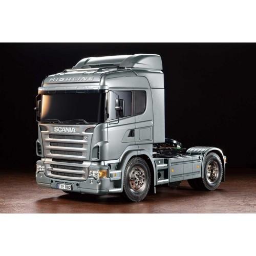 RC Scania R470 Silver Edition 1/14 TAMIYA 56364, TAMIYA CARSON 30056364